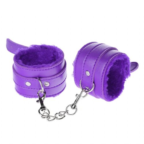 Bondage Cuffs - Purple